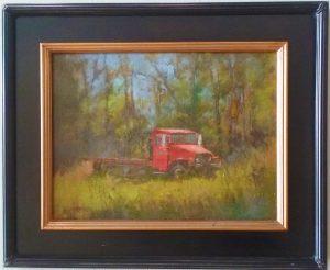 """""""JUNKED"""" by Robert Sandford, an Art of Danville piece"""