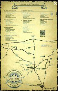 arttour map