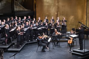 The Centre College Concert Choir and Orchestra Performed in Newlin Hall on April 17, 2016.