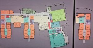 Kendra Peek/kendra.peek@amnews.com The preliminary plan for the new Boyle County Middle School, which will likely see a few changes as the project progresses.
