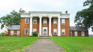 Photo contributed Clay Hill, an early Harrodsburg mansion sits on a hill on Beaumont Avenue.