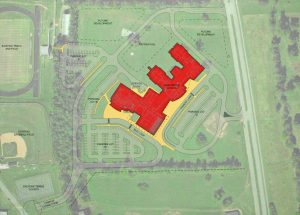 A map of the new Boyle County Middle School, slated to open during winter term of the 2018-2019 school year.