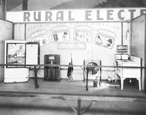 Photos contributed Residents in the rural communities of Boyle and surrounding counties exhibited displays of electric appliances they could use with the installation of electricity.