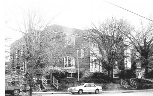 KSD's First Gymnasium – Completed in 1925 and later named for a KSD Superintendent, Augustus Rogers, Rogers Hall was located on the west side of the campus facing Third Street. A new gymnasium/pool complex replaced Rogers Hall in 1973. For a couple of decades after that the younger boys used Rogers Hall for activities and many Danville and Boyle County boys played their league basketball games there. It was razed on Nov. 23, 2010.