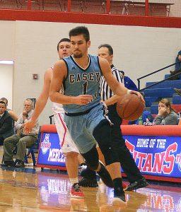 Jeremy Schneider/jeremy.schneider@amnews.com Casey County's Jacob Smith scored 27 points in Thursday's game in Harrodsburg.