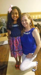 "Photo submitted  Dre'Ana White, left, with her dance teacher, Andrea Masters, or ""Miss Andi."""