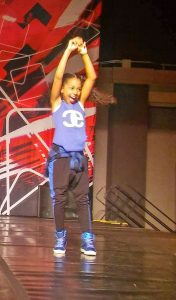 Photo submitted  Dre'Ana White loves dancing her heart out.