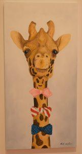 """""""Dapper Giraffe"""" by Mark Wilhem"""