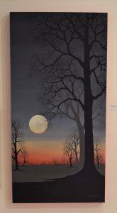 """Moon Shadows"" by Barbara Lockhart"