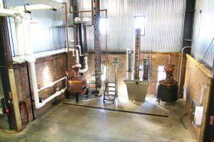 Stills used for distilling bourbon