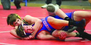 Lynn Witmer/For The Advocate-Messenger Boyle County's Jacob Robbins is one of four Rebels wrestlers to compete at this weekend's KHSAA state tournament in Lexington.
