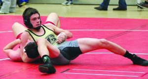 Lynn Witmer/For The Advocate-Messenger Boyle County's Hayden Shepherd is among four Rebels wrestlers who will compete at this weekend's KHSAA state tournament at Alltech Arena in Lexington.